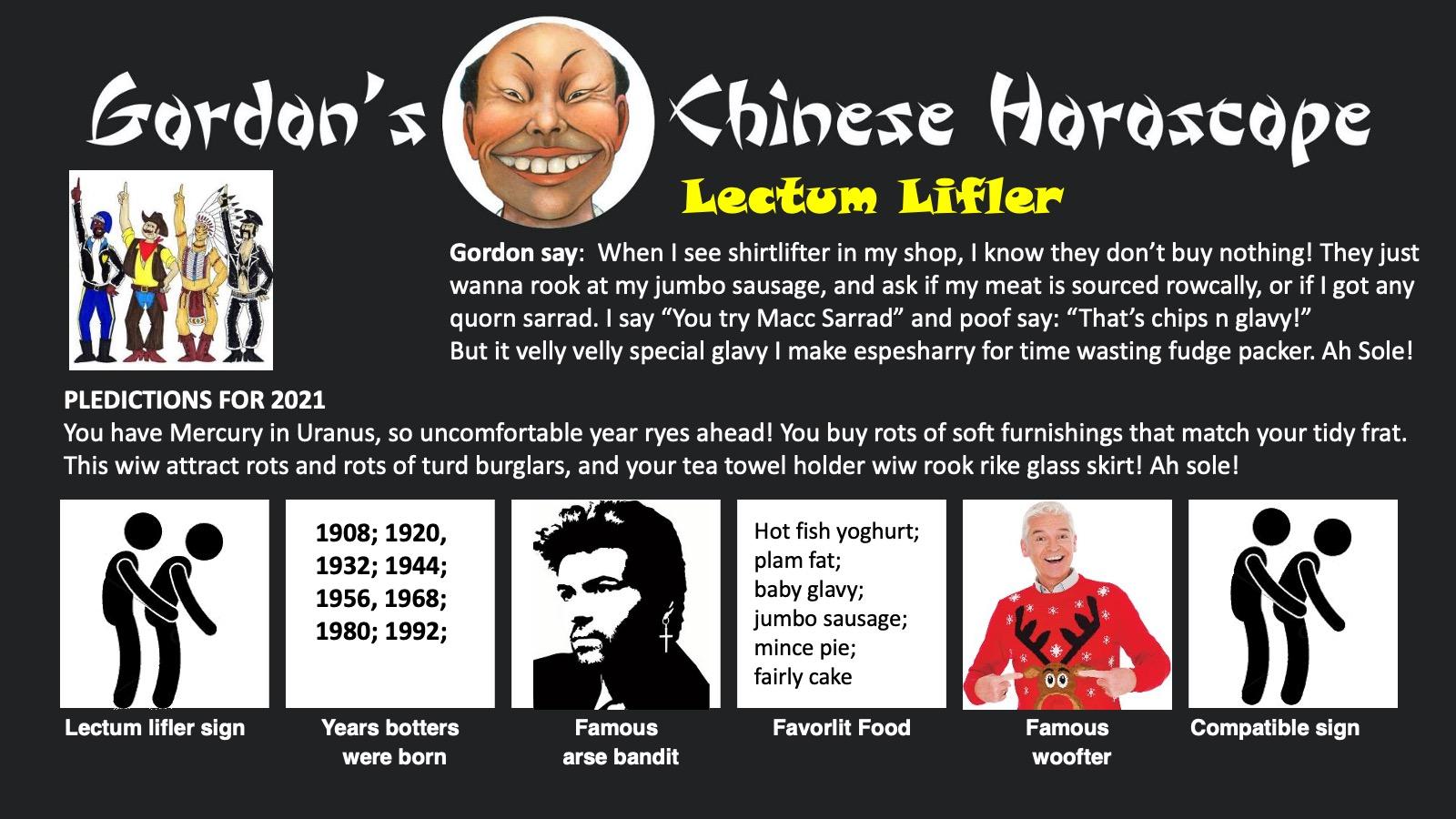 Gordon's Horoscope